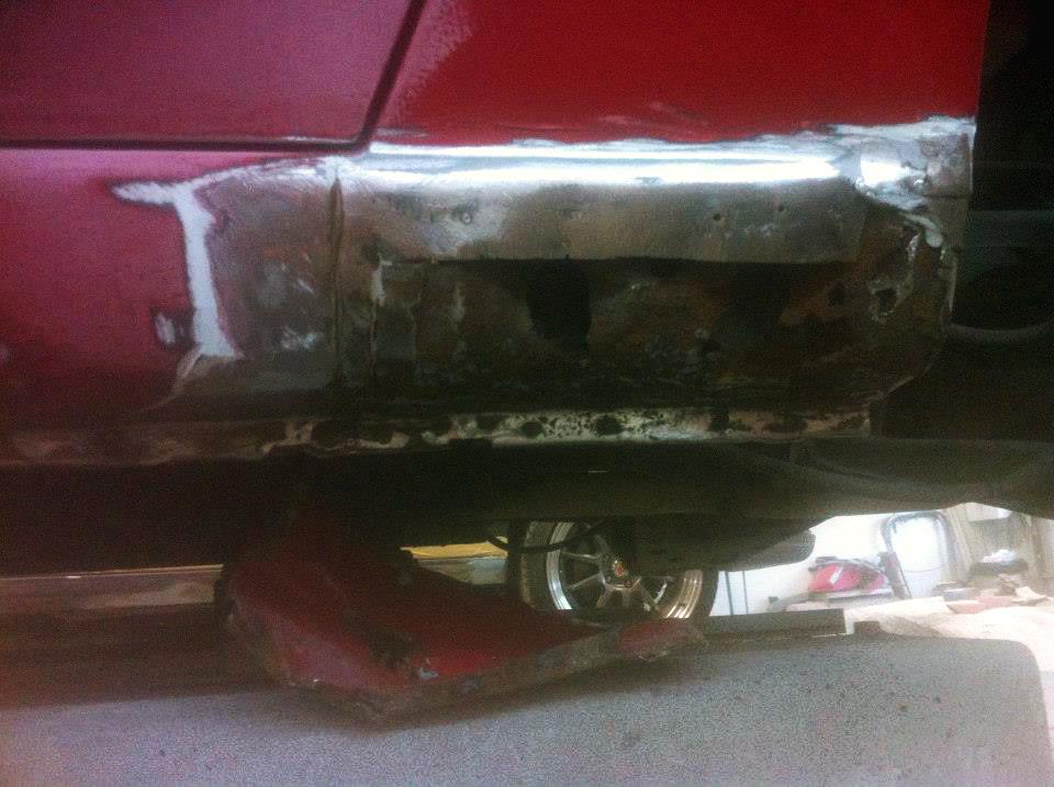 Peinture réparation rouille Mazda Miata 1993 01 | Carrosserie Hugo St-Jean