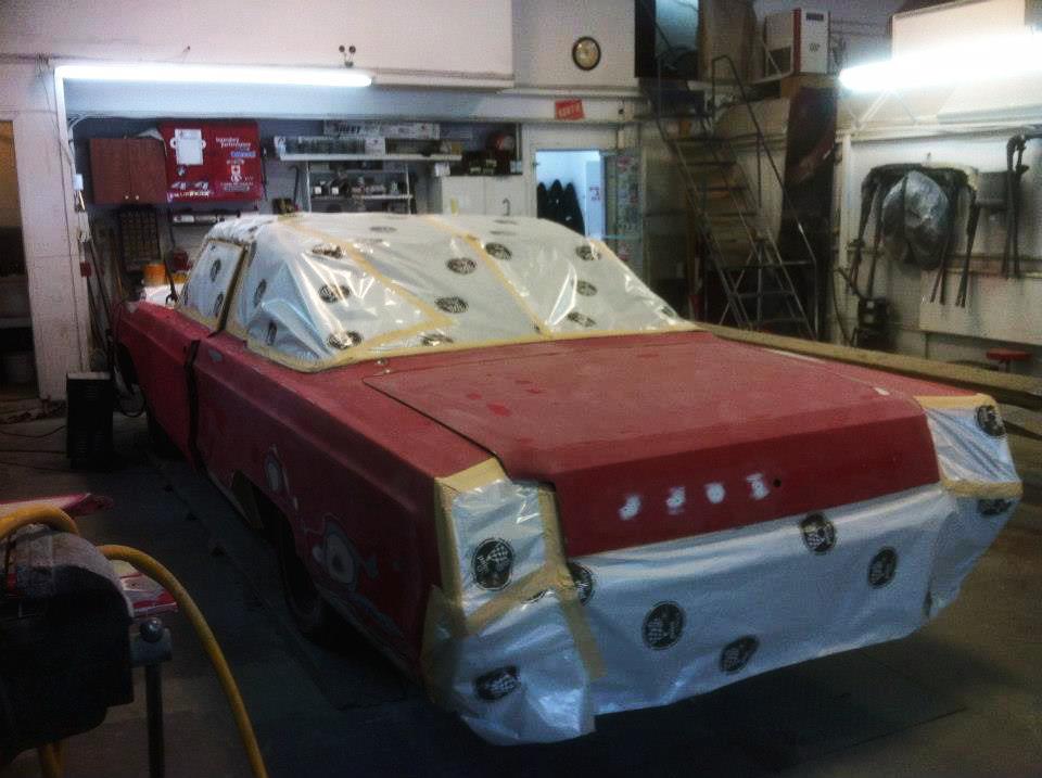 Transformation Chrysler Newport 1967 | Carrosserie Hugo St-Jean