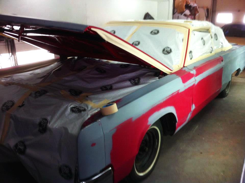 Transformation Chrysler Newport 1967 02 | Carrosserie Hugo St-Jean