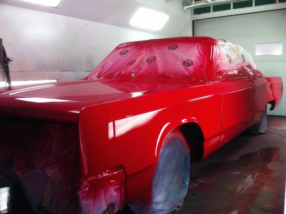Transformation Chrysler Newport 1967 03 | Carrosserie Hugo St-Jean